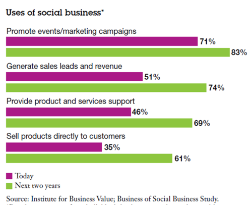 Uses of Social Business IBM