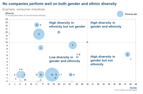 Feb 17 2015 Gender and Ethnic Diversity Performance