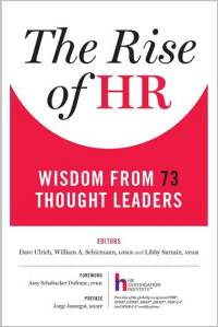 Rise of HR front cover